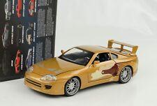 Toyota Supra Slap Jack Golden Fast And & Furious 1:24 Jada