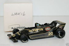 WESTERN MODELS SIGNED 1st VERSION - 1/43 SCALE - WRK16 1979 LOTUS 79 MKIV HUNT