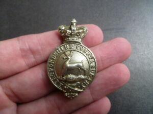 OBSOLETE VICTORIAN HERTFORDSHIRE CONSTABULARY badge PRE 1901