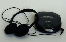 Sony Discman D-151 w/headphones Vintage 1997 Euc Tested