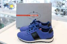 """""""Brand New"""" Prada Luxury Sneaker 4E 2718 - Size 7 US - Baltico + Nero Colour"""