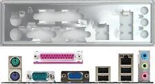 ATX diafragma i/o Shield asus a8v k8n VM p5v p5gl m2a-mx #6 Io Shield bracket New