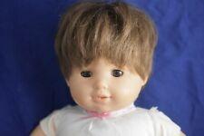 American Girl 2013 Baby. Has short Brown Hair, Fair Skin, Brown Eyes
