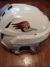 (AHL) Tucson Roadrunners game-worn #39 CCM helmet Trevor Cheek '17-18 + playoffs