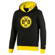 Puma BVB Badge Hoody Herren Sweatshirt Dortmund 09 schwarz