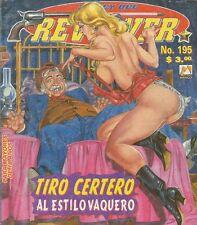 LA LEY DEL REVOLVER MEXICAN COMIC #195 MEXICO SPANISH HISTORIETA 1998 WESTERN