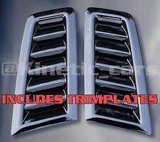 FOCUS RS mk2 stile Sfiati Cofano in plastica ABS * Ford profilo * con trimplates Inc