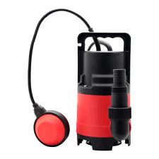 Schmutzwasserpumpe 400 Watt 8000 l/h Tauchpumpe Wasser Pumpe Gartenpumpe