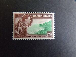 Pitcairn Islands  - George VI 1940 2/6 Mounted Mint