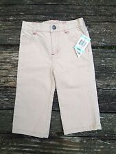 NWT Greendog Girls Pants/Jeans 18 Months Khaki/Tan/Beige Pink