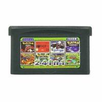 24 in 1 Gameboy Advance GBA Multicart Pokemon Castlevania Zelda Metroid Ruby