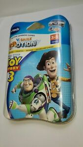 VTECH V.Smile Motion Disney Toy Story 3 game BRAND NEW SEALED!