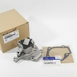 Genuine 2510023022 Water Pump+Gasket 2Pcs For HYUNDAI TUCSON 2003-2009