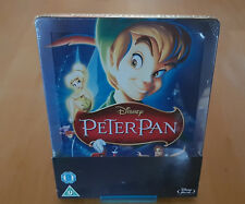 Peter Pan / Disney / Limited Steelbook / Zavvi / Rare OOP