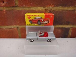 VINTAGE DINKY TOYS 114 TRIUMPH SPITFIRE CAR WITH ORIGINAL BOX