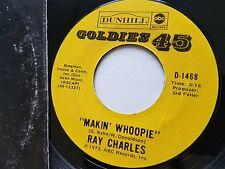 "RAY CHARLES - Makin' Whoopie / Ruby 7"" R&B BLUES SOUL"
