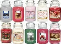 Yankee Candle Christmas Large Jar Scented -New 17 Scents to Choose  FREE POSTAGE
