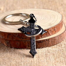 Cool Cross Accessories Keychain KeyRing Bag Pendant Present Gift Alloy