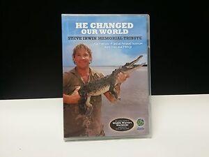 He Changed Our World - Steve Irwin DVD_Memorial Tribute - The Crocodile Hunter