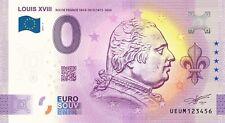BILLET 0  EURO LOUIS XVIII  ROI DE FRANCE ANNIVERSARY  2021 NUMERO DIVERS
