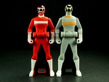 Japan BANDAI MEGARANGER Ranger Key MEGA-RED & MEGA-SILVER SET
