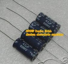 63V47UF 47MFD Aluminum electrolytic capacitor Audio crossover capacitors
