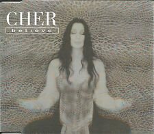 CHER Believe RARE 3TRX w/ CLUB 69 MIX Europe CD single SEALED USA Seller 1998