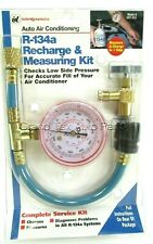 R-134a A/C Recharge Kit & Gauge BUICK CHEVROLET CADILLAC OLDSMOBILE PONTIAC