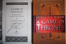 SIGNED A Game of Thrones Illustrated Ed Song of Ice and Fire George R. R. Martin