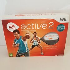EA SPORTS ACTIVE 2 Wii+HEART RATE MONITOR-exercise home workout personal trainer