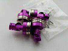 RC Car Magnetic Body Shell Mount x4 Purple Alloy New UK Stock 1/10 Scale.