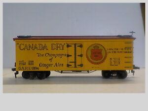 HO Built Old Time Billboard Canada Dry Ice Reefer #9104 Wood Kit
