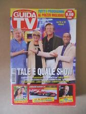 GUIDA TV n°41  2013 [G764] TALE E QUALE SHOW CARLO CONTI