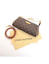 Auth Louis Vuitton Eva Clutch Monogram M95567 Guaranteed Shoulder CrossBag