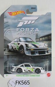 Hot wheels Forza Motorsport Porsche 934 Turbo RSR White 5/5 FNQHotwheels FK565