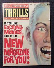 1962 SCREEN THRILLS Illustrated v.1 #1 VG+ 4.5 Tarzan Three Stooges Superman