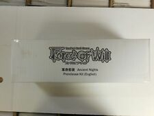FOW Force of Will Pre-Release Kit ANCIENT NIGHTS NEW & UNUSED!!