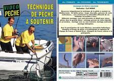 Technique de pêche à soutenir  - Pêche en mer - Vidéo Pêche