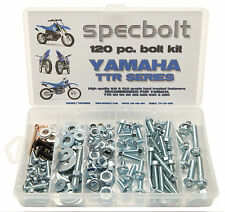 120pc Bolt Kit Yamaha TTR 50 80 90 110 125 225 250 plastic body frame engine PW