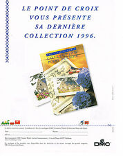 PUBLICITE  ADVERTISING  1998   DMC  fils à broder