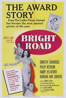 Bright road Dorothy Dandridge movie poster print