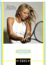 2005 ACE JAPAN HOLIDAY MARIA SHARAPOVA RC #MS-44 ROOKIE SPECIAL EDITION