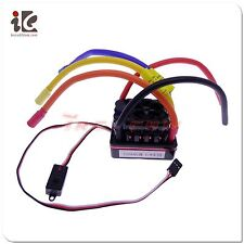 120A Brushless ESC SC8 Waterproof Speed Controller RC Model Car 1/8 -USA Seller