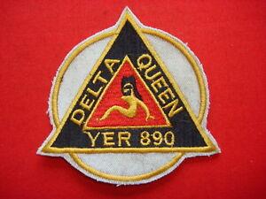 Vietnam War Patch US Navy YFR-890 DELTA QUEEN