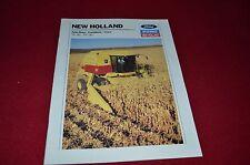 New Holland TR86 TR96 Combine Dealer's Brochure 31008623 LCOH