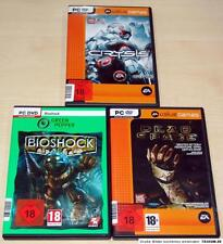 3 pc giochi collezione Bioshock Crysis Dead Space EGO Shooter USK 18