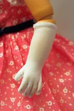 For CISSY: White Elbow Opera GLOVES for Vintage Fashion Dolls 20-21""