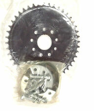 49ccc 80cc engine motor bike parts - 44 teeth dish sprocket with mount