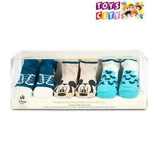 Disney Baby Gift Set Mickey Mouse Socks for Boy - 3 Pair of Sock