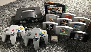 Nintendo 64 N64 Console, Accessories & Games Bundle Job Lot Retro